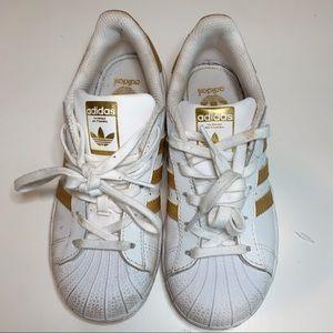 Adidas Girls' Superstar Casual Sneakers